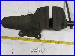Wilton Machinist Swivel Base Bullet Bench Vise 6 Jaws 10 opening made in USA