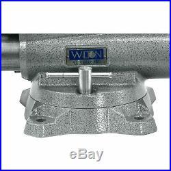Wilton Mechanic's Pro Vise with Swivel Base 10in. Jaw Width, Model# 8100M