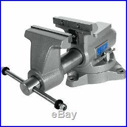 Wilton Mechanic's Pro Vise with Swivel Base 5 1/2in. Jaw Width, Model# 855M