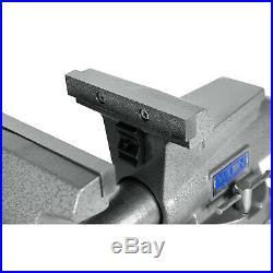 Wilton Mechanics Pro 6.5 Jaw Width 6 Opening Steel Swivel Base Work Bench Vise