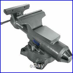 Wilton Mechanics Pro 8 Jaw Width 8.5 Opening Steel Swivel Base Work Bench Vise