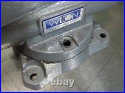 Wilton Mechanics Pro Bench Vise with Swivel Base 6-1/2 Jaw Width 28812