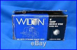 Wilton Model WS6 Shop Bench Vise Swivel Base with 6 Jaw Width