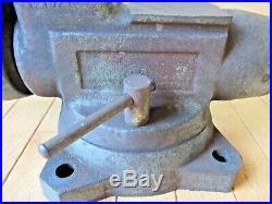 Wilton No. 1760 6 Jaws Bullet Vise Swivel Base 70 Lbs