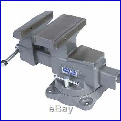 Wilton Reversible Mechanic's Vise with Swivel Base 8in. Jaw, Model# 4800R
