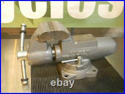 Wilton Round Channel Machinist Vise with Swivel Base 5 Jaw Width 8 Opening 28832