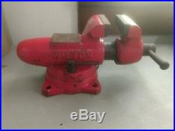 Wilton Schiller Park USA 350 3-1/2 Swivel Base Bullet Vise