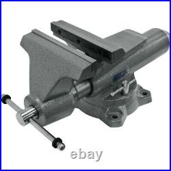 Wilton Tools 10 Wide Jaw 12 Opening Swivel Base Pro Mechanic Vise (For Parts)