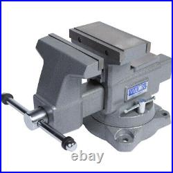 Wilton Tools 28822 6 1/2 Inch Wide Jaw Swivel Base Reversible Work Bench Vise