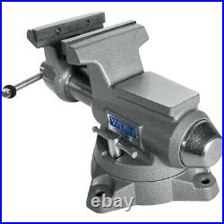 Wilton Tools 5 1/2 Wide Jaw 5 Swivel Base Pro Mechanic Work Vise (For Parts)