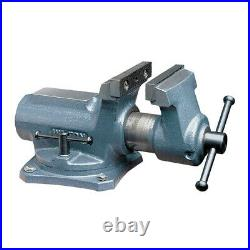 Wilton Tools 63248 Super Junior Vise 4 Wide Jaw 2.25 Jaw Opening, Swivel Base