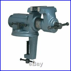 Wilton Tools CBV-100 Super Junior 4 inch Vice with Clamp on Swivel Base