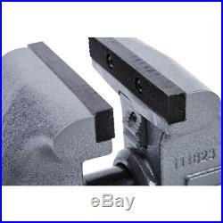 Wilton Tradesman 1765 Steel Swivel Base Work Bench Vise with 4 Pound Sledge Hammer