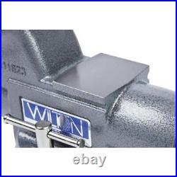 Wilton Tradesman 6.5in Jaw Width Steel Swivel Base Anvil Bench Vise (Open Box)