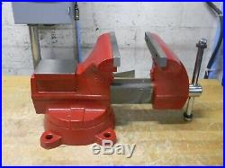 Wilton Utility Bench Vise with Swivel Base 8 Jaw Width 7-1/2 Opening 11800