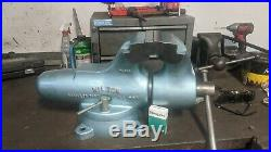 Wilton Vise Bullet 600 6 inch jaws swivel base restored works smooth and free