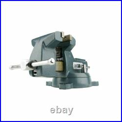 Wilton WIL-21800 8 Inch Jaw 4-3/4 Inch Throat Depth Bench Vise with Swivel Base