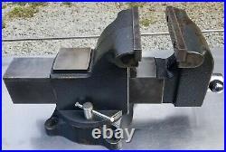 Wilton WS6 6 Inch Jaw 3.5 Inch Throat Steel Swivel Base Work Shop Bench Vise