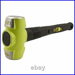 Wilton WS6 6 Inch Steel Swivel Base Bench Vise with BASH 4 Pound Sledge Hammer