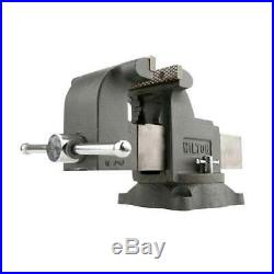 Wilton WS8 8 Inch Steel Swivel Base Bench Vise with 3 Piece Ball Peen Hammer Kit