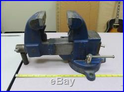 YOST 31C 3-1/2 in. Heavy-Duty Combination Pipe and Bench Vise Swivel Base NICE