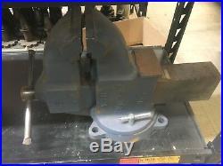 Yost 34C 6 Ductile Iron Heavy Duty Combination Vise Swivel Base
