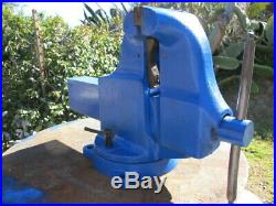Yost 34c 6-in Steel Pipe Jaws Swivel Base Combination Pipe & Bench Vise