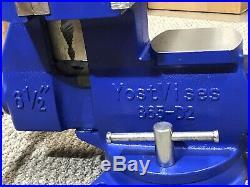 Yost 865-D2, 6-1/2 Multi-Purpose Reversible Combination Vise With Swivel Base